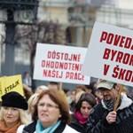 Tanárok kerülhetnek az utcára Szlovákiában