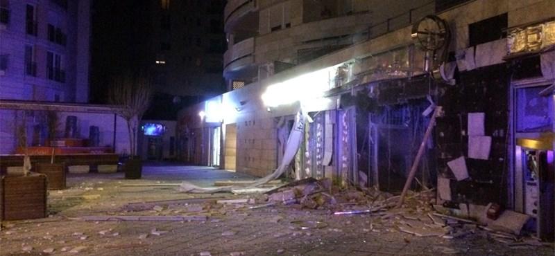 Sötétben tapogatózik a rendőrség a bankrobbantás ügyében