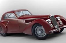 Videó: 5 milliárd forintért egy ilyen Alfa Romeót?