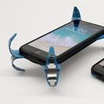Olyan telefontokot talált ki egy egyetemista, amelyben szinte lehetetlen, hogy összetörjön a mobil – videó