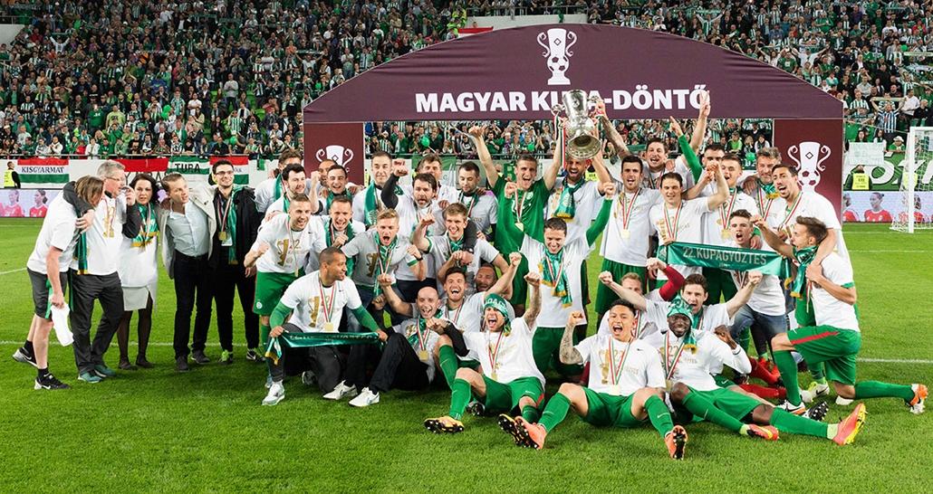 e!_Magyar Kupa döntő, FTC lett a bajnok, FTC-UTE labdarugó mérkőzés