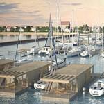 Kikötőmonstrum épül Balatonfenyvesen