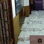 Egymilliárd dolláros kábítószerfogási rekord Uruguayban