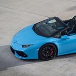 Tolatóradar: előkapta a jó időben 80 milliós Lamborghinijét Vajna Tímea