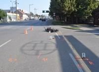 A rendőrök hívták fel a cserbenhagyót, hogy jöjjön már vissza a baleset helyszínére