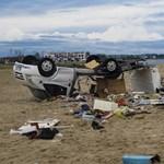 Turisták haltak meg a görögországi viharokban