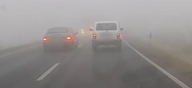 Tejködben előzött az autós Körmendnél, amikor érkezett szemből a kamion - videó