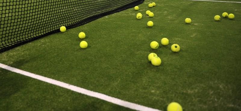 Így változik lábtengóvá egy profi teniszmeccs – videó