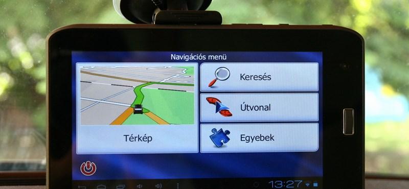 Autós navigáció, tablet, vagy mindkettő egyszerre?