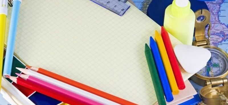 Iskolakezdés: átlagosan 84 ezer forintot költenek a szülők gyerekenként