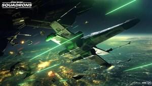 Megjött az új Star Wars-játék trailere, lenyűgöző látványt ígér a Squadrons