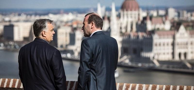 Weber: Nem Orbán határozza meg a jövőt, hanem Merkel és én