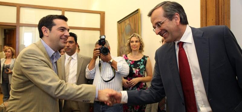 Megállapodtak az új görög kormányról