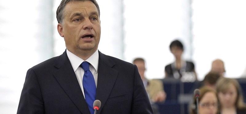 Orbán Strasbourgban: gyomorszájasokat kapott Európa