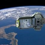 Fantasztikus külső-belső képek az orosz űrhotelről