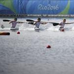 Olimpiai csúccsal nyert a női kajaknégyes, megvan a 8. magyar arany