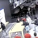 Ilyen márpedig nincs: 13 másodperc alatt raboltak ki egy Apple-boltot, kétszer is – videó