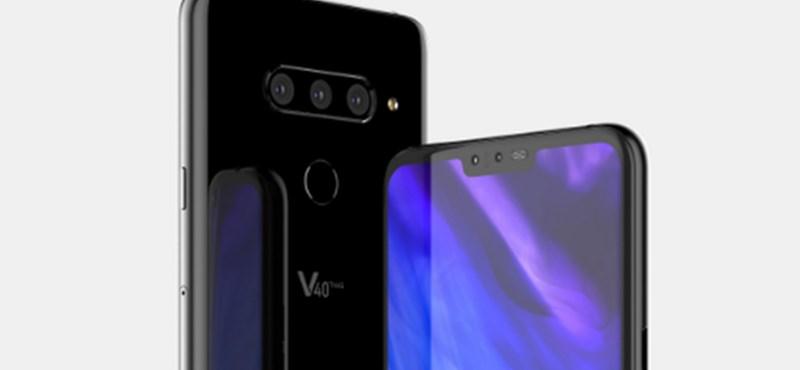 Nagyfelbontású videó: ilyen lehet majd az új, ötkamerás LG-csúcstelefon