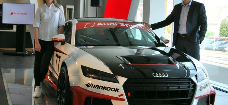 Magyar tinilányt választott versenyzőjének az Audi