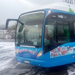 Baleset miatt nem jár a budapesti Mikulásbusz
