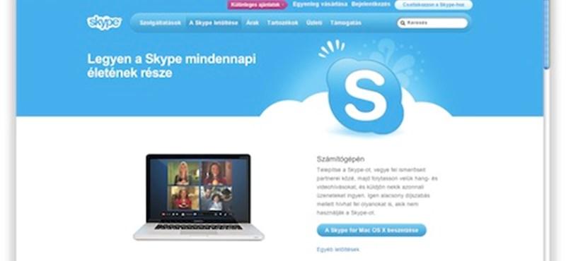 Itt a Skype 5.2 OS X-re!