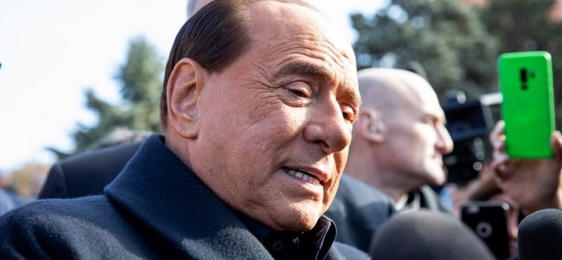 Szívelégtelenség miatt kórházba került Silvio Berlusconi