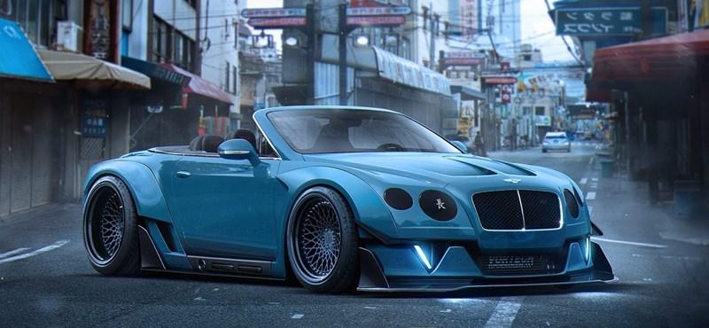 Ettől a Bentley-től azonnal elakad a szava