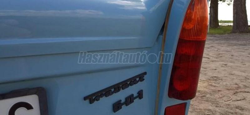 Világoskék Trabant Hycomatot kínálnak eladásra Budakalászon