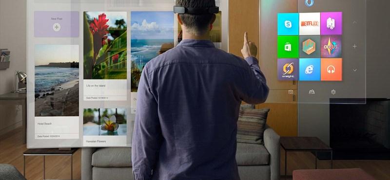 Nézze csak, elképesztő dolgokra képes a Microsoft új szemüvege