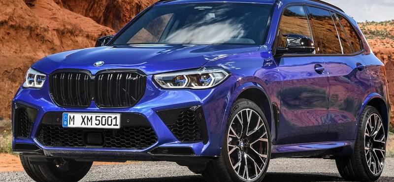Hazánkban a 600 lóerős új BMW X5 M
