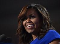 Michelle Obama még a Mikulás előtt is táncra perdült