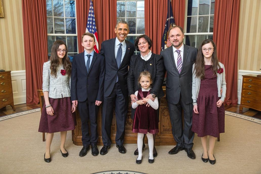 mti.15.02.25. - Washington, USA: Szemerkényi Réka, Barack Obama amerikai nagykövet 2015.02.25. - 7képei