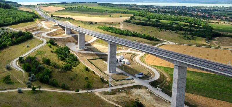 Új autópálya-építési csúcs: 3,8 milliárd forint egyetlen kilométerért