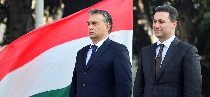 Rengeteg kérdést feltett Gruevszkiről, egy rövid nem szócskával leszerelte a kormány