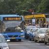 Áramütés ért egy villamosvezetőt a 4-es 6-os ideiglenes végállomásánál