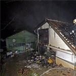 Fotók: leégett egy Álom utcai ház teteje Budapesten
