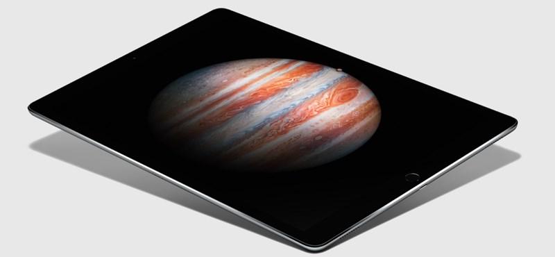 """Kiderült, mikor érkezik Magyarországra a 12,9""""-es új iPad"""