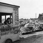Ansel Adams fekete-fehér fotói az 1940-es évek Los Angeleséről