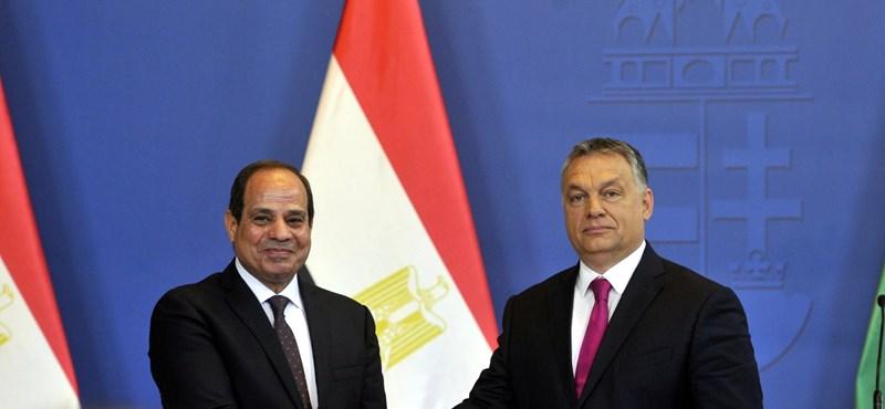 Az egyiptomi elnök szerint a magyaroknak szerencséjük van Orbánnal