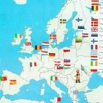 Székely zászló jelöli Romániát egy törikönyvben, kitört a botrány