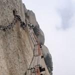 Ha ezt turistacsalogatónak szánták a kínaiak, akkor vajon mivel riasztják el őket?