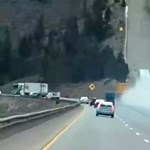 Működött a menekülőrámpa, füstölő kerekekkel száguldott fel rajta a kamion