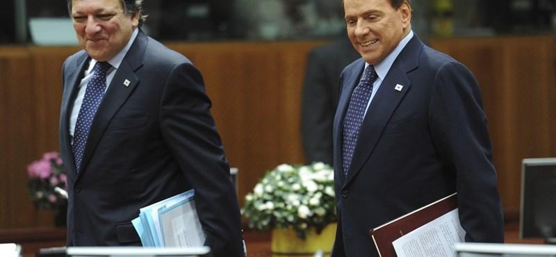 Az euró furcsa pénz - Berlusconi elszólta magát