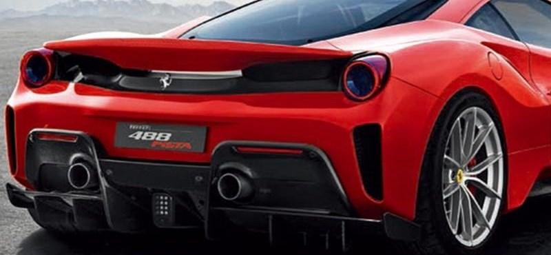 Ez az igazi erős Pista: jön a felbőszített Ferrari 488 GTB