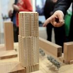 Felhőkarcolót építenek a berlini Alexanderplatzon