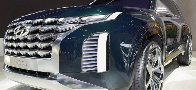 Nagymester: az Audi Q7 és a BMW X7 babérjaira tör a Hyundai