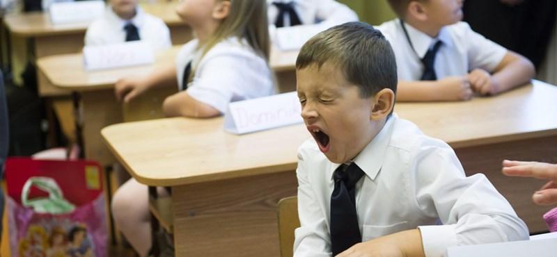Reggel kilenckor kezdődhet az iskola? Nem rossz az államtitkár ötlete