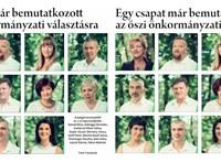 Eltorzították az ellenzéki képviselők arcát a bajai önkormányzati újságban