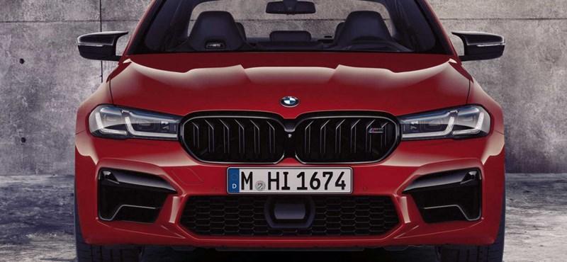 Így mutatna az új, 625 lóerős BMW M5 kombi