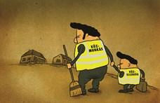 Orbán tenyeréből esznek, a közmunkásoktól vesznek? Győr újra kemény videók után szavaz